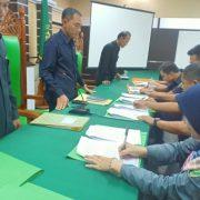 Penandatanganan Kontrak Honorer